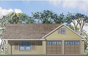 Home Plan Design - Traditional Exterior - Front Elevation Plan #124-942