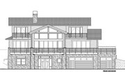 Modern Style House Plan - 4 Beds 4.5 Baths 3458 Sq/Ft Plan #1042-20 Exterior - Front Elevation