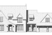 European Style House Plan - 3 Beds 2.5 Baths 3546 Sq/Ft Plan #901-143 Exterior - Front Elevation
