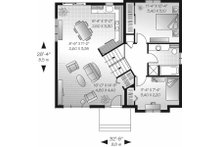 Traditional Floor Plan - Main Floor Plan Plan #23-704