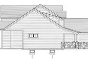 Craftsman Style House Plan - 4 Beds 2.5 Baths 2080 Sq/Ft Plan #46-891 Exterior - Other Elevation