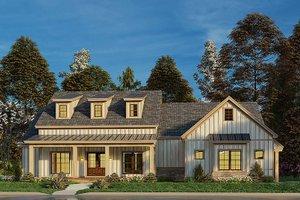 Craftsman Exterior - Front Elevation Plan #923-175
