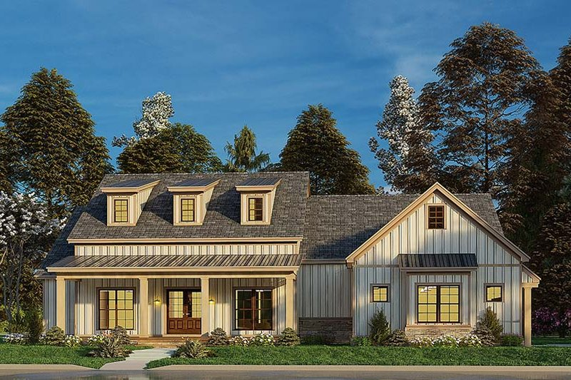 Dream House Plan - Craftsman Exterior - Front Elevation Plan #923-175