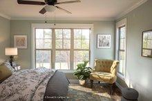 House Plan Design - European Interior - Master Bedroom Plan #929-1033