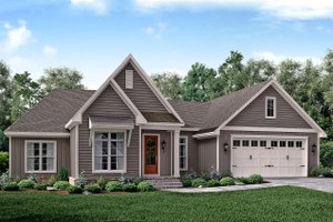 Traditional Exterior - Front Elevation Plan #430-161