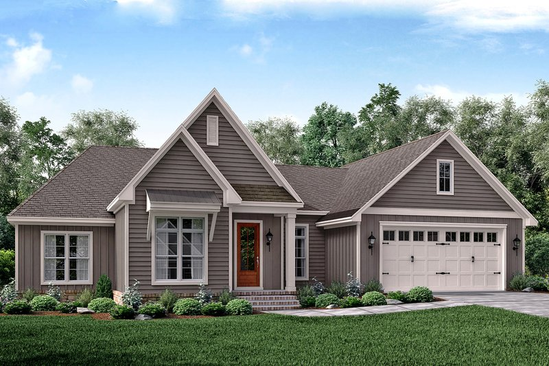 Home Plan - Traditional Exterior - Front Elevation Plan #430-161