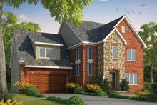House Plan Design - Traditional Exterior - Front Elevation Plan #20-2282