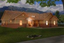 House Plan Design - Craftsman Exterior - Other Elevation Plan #932-282