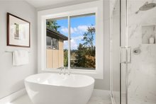 House Design - Contemporary Interior - Master Bathroom Plan #1066-62
