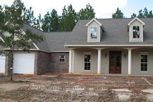 Dream House Plan - Country Exterior - Front Elevation Plan #21-196