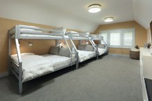 House Design - Conditioned Storage as Bunkroom