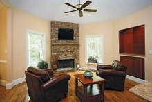 Dream House Plan - Traditional Interior - Family Room Plan #56-541