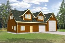 House Plan Design - Traditional Exterior - Front Elevation Plan #117-482