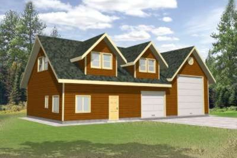 Traditional Exterior - Front Elevation Plan #117-482