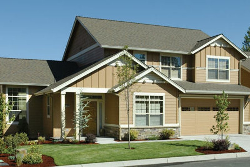 Dream House Plan - Traditional Exterior - Front Elevation Plan #48-396