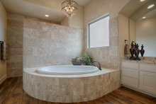 Dream House Plan - Mediterranean Interior - Master Bathroom Plan #80-141