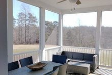 Country Exterior - Covered Porch Plan #929-527