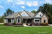 Country Style House Plan - 4 Beds 3 Baths 2445 Sq/Ft Plan #929-873 Exterior - Front Elevation