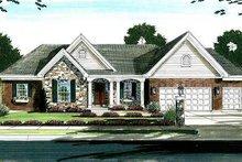 Home Plan - Cottage Exterior - Front Elevation Plan #46-402