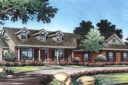 Country Style House Plan - 3 Beds 2 Baths 2059 Sq/Ft Plan #417-176