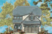 Farmhouse Style House Plan - 4 Beds 2.5 Baths 2325 Sq/Ft Plan #20-1659 Exterior - Front Elevation
