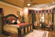 Traditional Style House Plan - 5 Beds 4.5 Baths 3482 Sq/Ft Plan #927-11 Interior - Master Bedroom