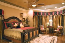 Dream House Plan - Traditional Interior - Master Bedroom Plan #927-11