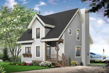 Dream House Plan - Traditional Exterior - Front Elevation Plan #23-663