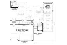 Craftsman Floor Plan - Other Floor Plan Plan #20-2066