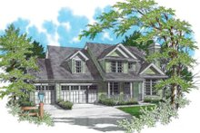 Dream House Plan - Country Exterior - Other Elevation Plan #48-340