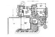 European Style House Plan - 4 Beds 3 Baths 3273 Sq/Ft Plan #310-996 Floor Plan - Main Floor Plan