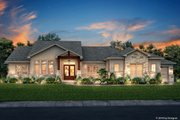 Farmhouse Style House Plan - 3 Beds 2.5 Baths 2920 Sq/Ft Plan #430-185 Exterior - Front Elevation