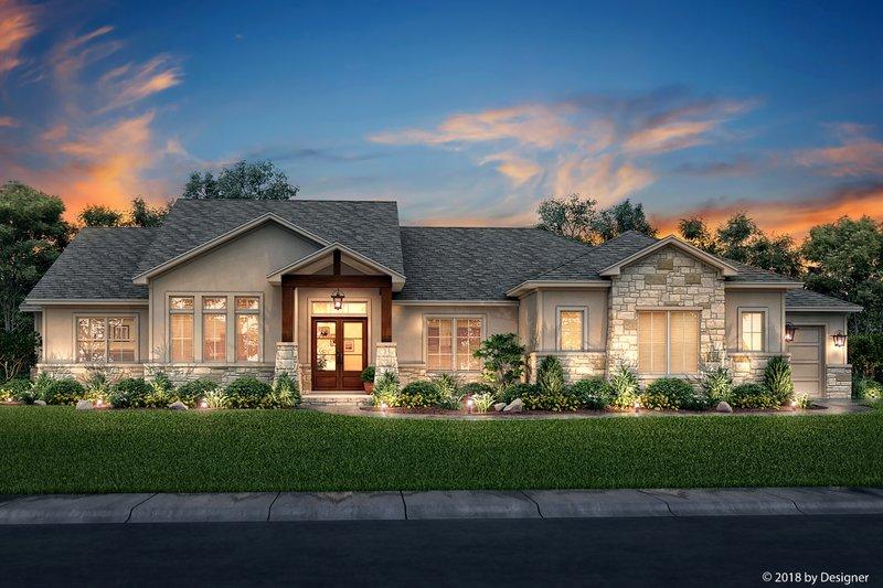 House Plan Design - Farmhouse Exterior - Front Elevation Plan #430-185