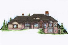 Traditional Exterior - Front Elevation Plan #5-323