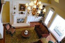 Architectural House Design - European Interior - Family Room Plan #137-227