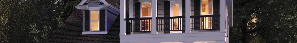 Colonial House Floor Plans with Modern Open Concept Design