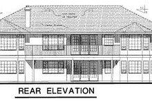 Ranch Exterior - Rear Elevation Plan #18-140