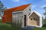 Modern Style House Plan - 3 Beds 3.5 Baths 1715 Sq/Ft Plan #933-6 Exterior - Outdoor Living