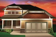 House Design - Bungalow Exterior - Front Elevation Plan #70-1069