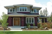 Prairie Style House Plan - 4 Beds 2.5 Baths 2439 Sq/Ft Plan #434-2 Exterior - Front Elevation