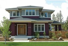 Home Plan - Prairie Exterior - Front Elevation Plan #434-2