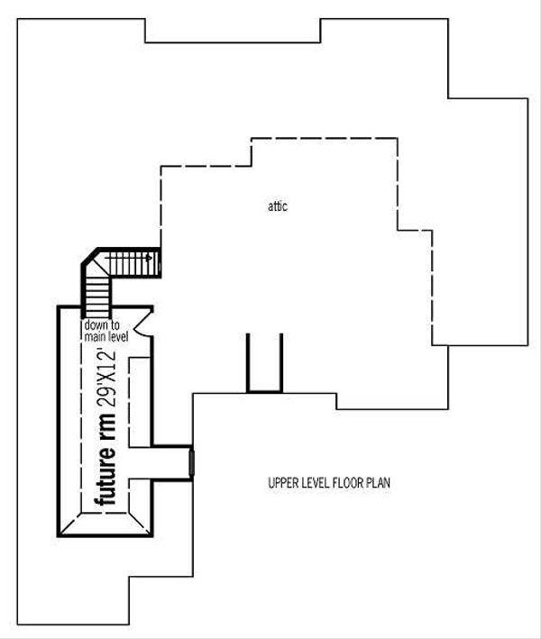 European Floor Plan - Other Floor Plan Plan #45-291