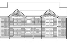 Architectural House Design - Traditional Exterior - Rear Elevation Plan #48-152
