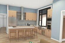 House Plan Design - Craftsman Interior - Kitchen Plan #124-1240