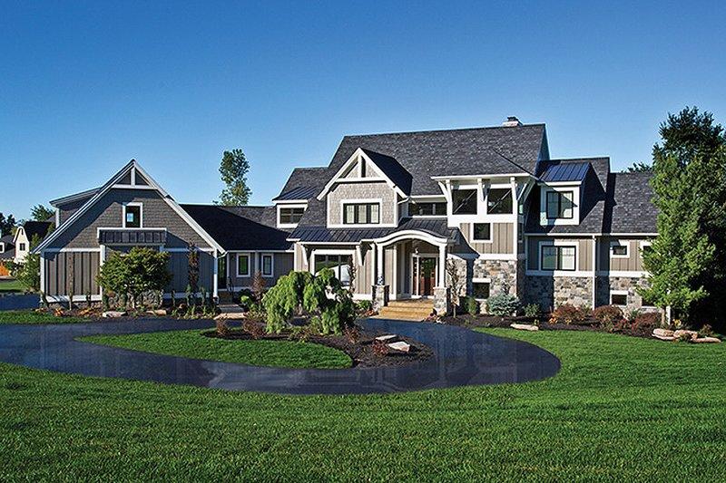 House Plan Design - Craftsman Exterior - Front Elevation Plan #928-224