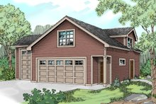 Dream House Plan - Traditional Exterior - Front Elevation Plan #124-641