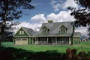 Farmhouse Style House Plan - 3 Beds 2.5 Baths 1897 Sq/Ft Plan #22-507 Exterior - Front Elevation