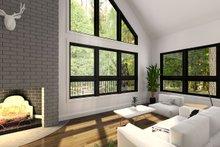 Dream House Plan - Modern Interior - Family Room Plan #23-602