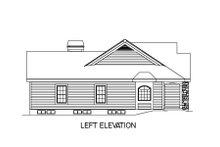 House Plan Design - Farmhouse Exterior - Other Elevation Plan #57-178