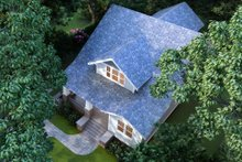 House Plan Design - Craftsman Exterior - Other Elevation Plan #1079-1